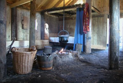 Inside the new Viking Longhouse at Danelaw Viking Village