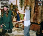 Part of an in school presentation on the Vikings. Here we are discussing Viking battles.