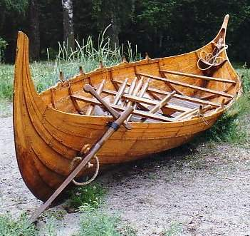 There are some characteristics that make Viking boats distinctive.